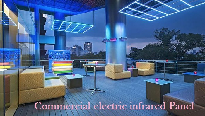 Commercial electric infrared Panel